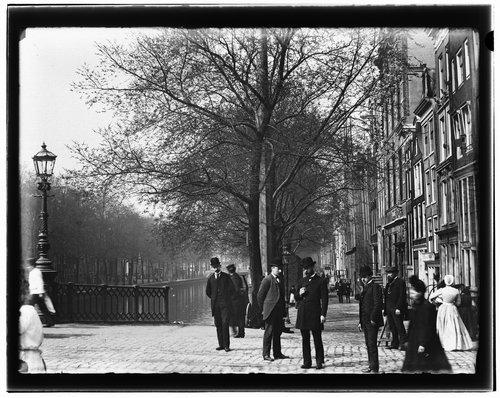 illustratie: Straatbeeld Amsterdam