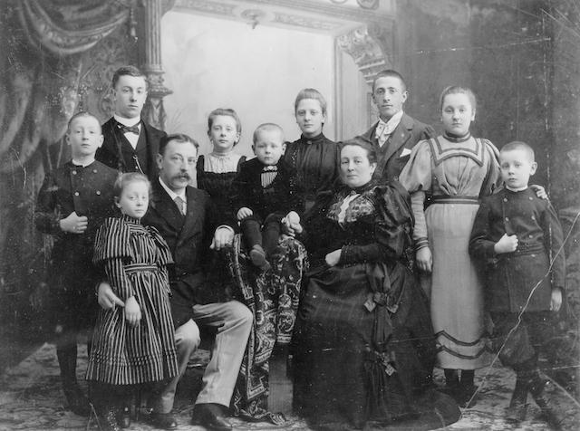De familie Hustinx-Roberti